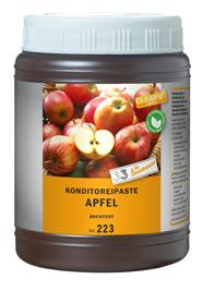 Apfel, Konditoreipaste