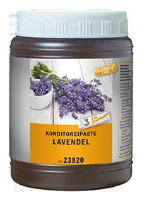 Lavendel, Konditoreipaste